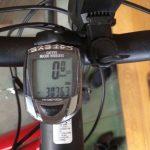 クロスバイクで3000km超えたー